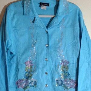 Jackets & Blazers - Rhinestone jacket